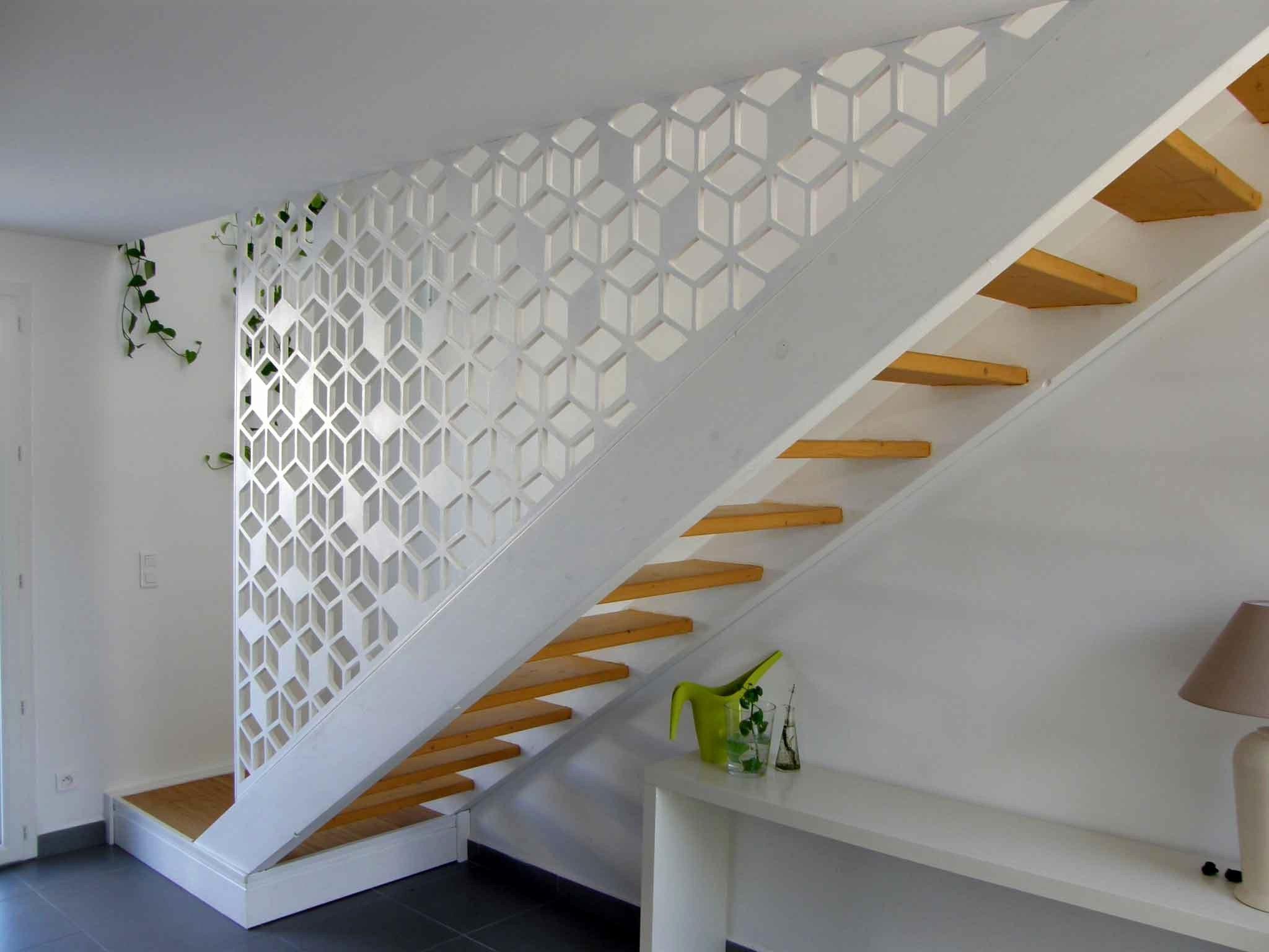 claustra decoration garde corps escaliers