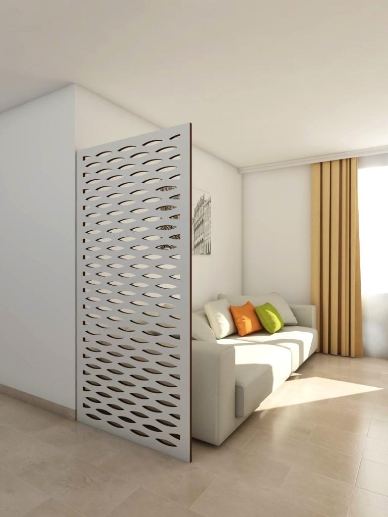 claustra decoration salon simple