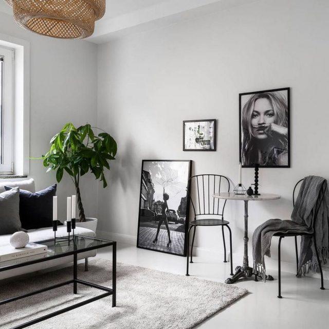 conseil deco minimalisme decoration murale