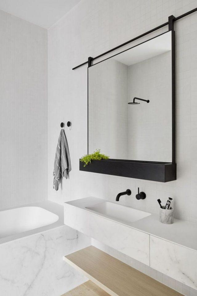 conseil deco minimalisme salle de bain