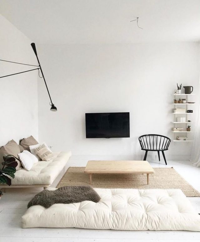 conseil deco minimalisme salon