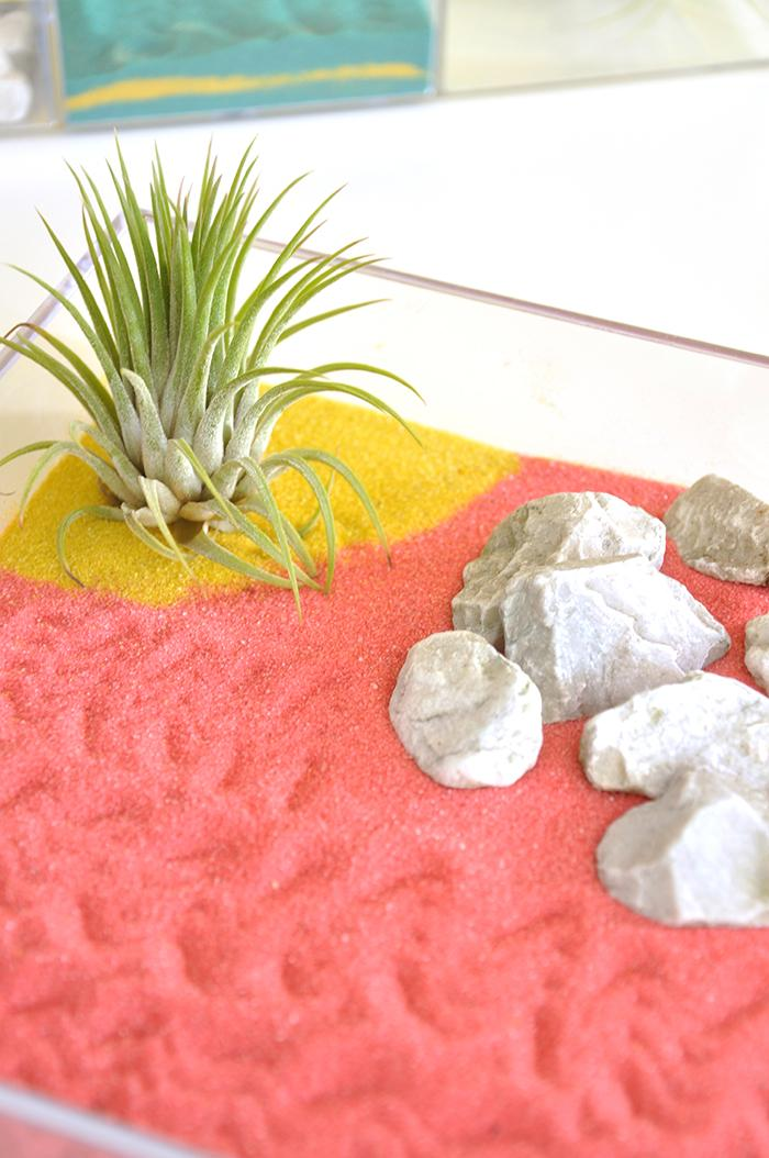 diy jardin zen colore decoration