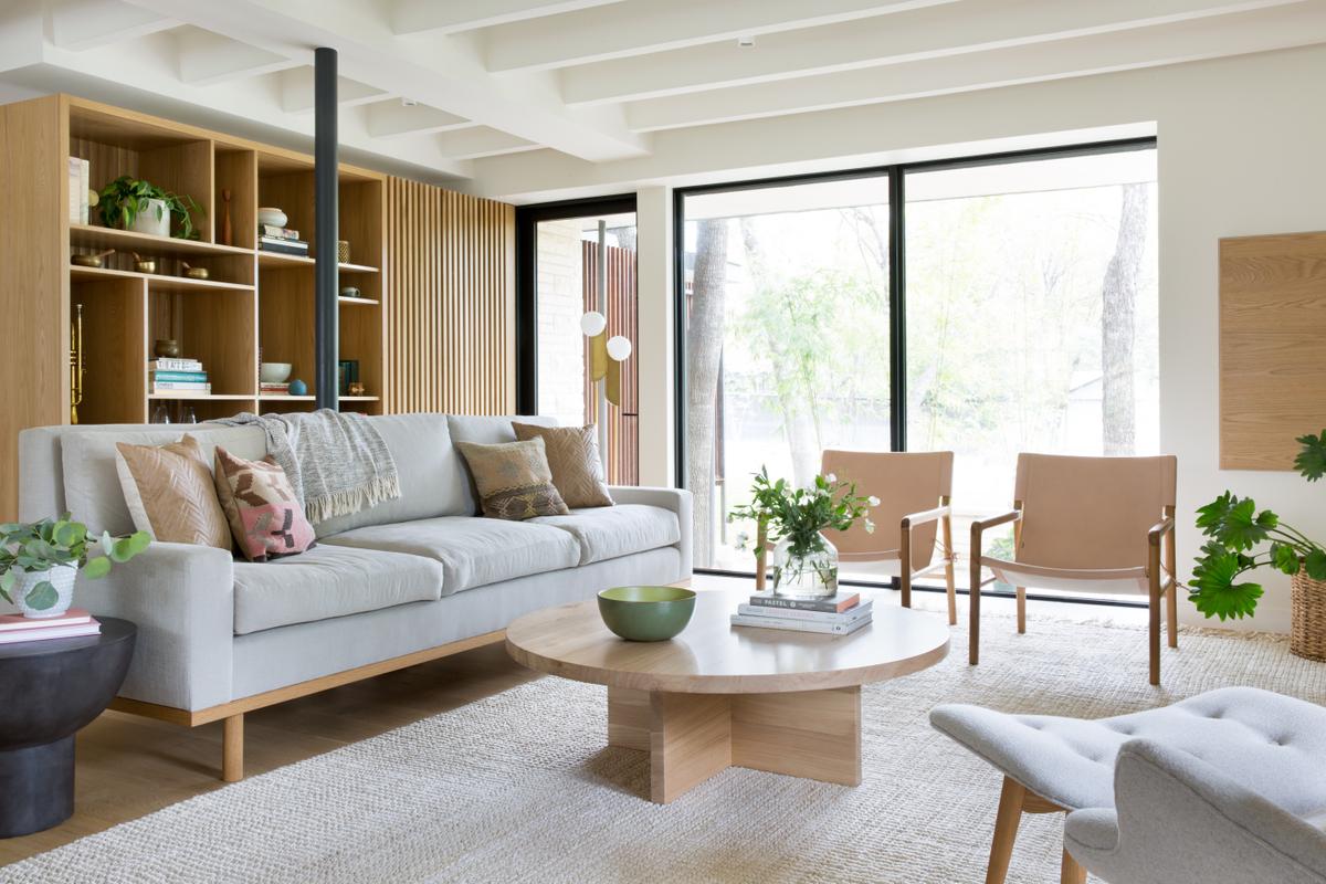 indispensable minimaliste salon matiere bois