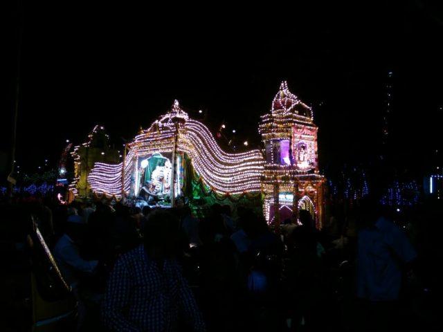 pondicherry voyage char festival religieux