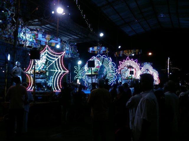 pondicherry voyage festival hindou