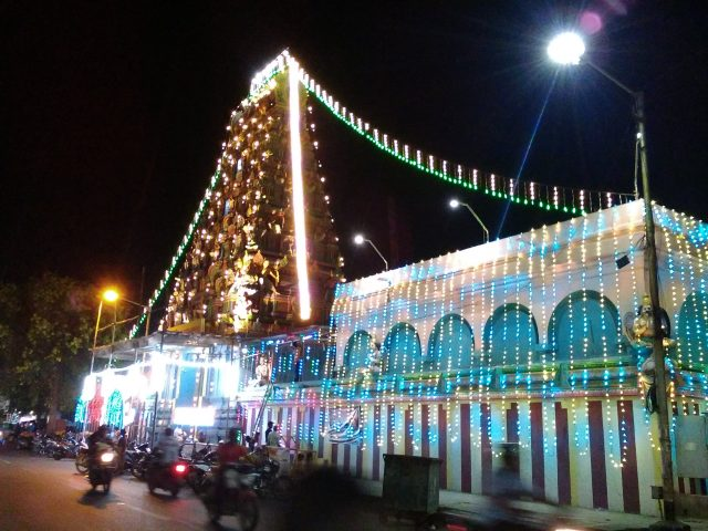 pondicherry voyage temple hindou