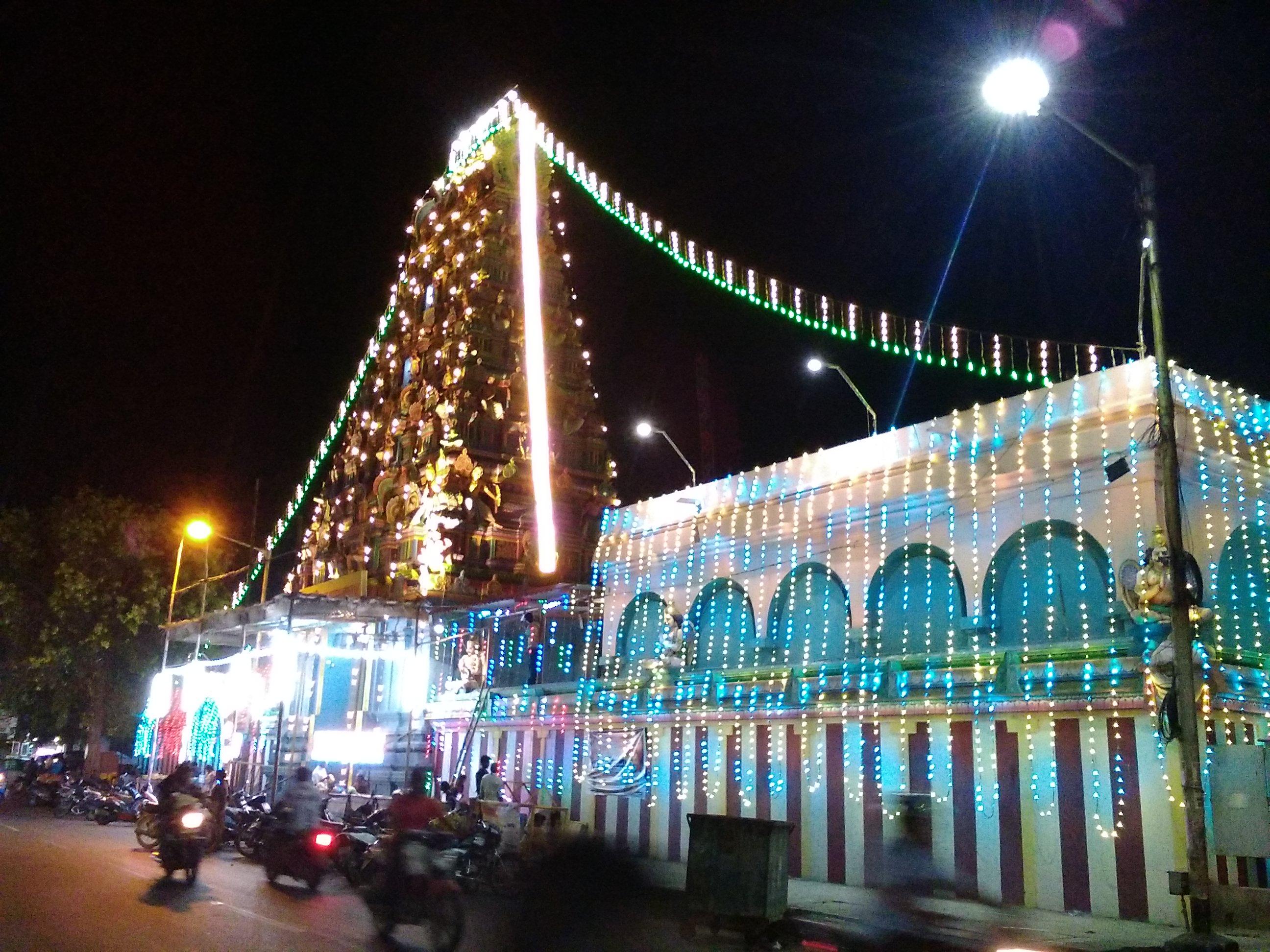 pondicherry voyage temple hindou