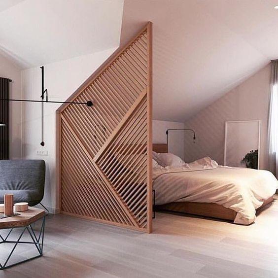 chambre claustra bois studio