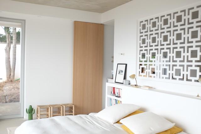 chambre claustra tete de lit