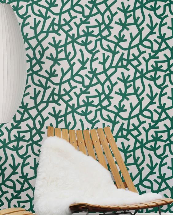 papier peint motifs epure minimaliste