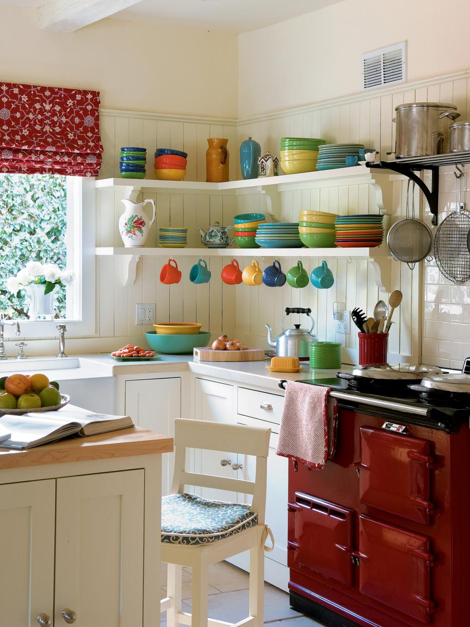 petite cuisine gain de place utilisation angle mural