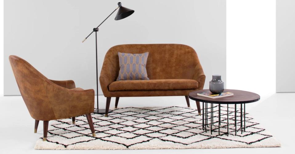 tapis motif berbere authentique