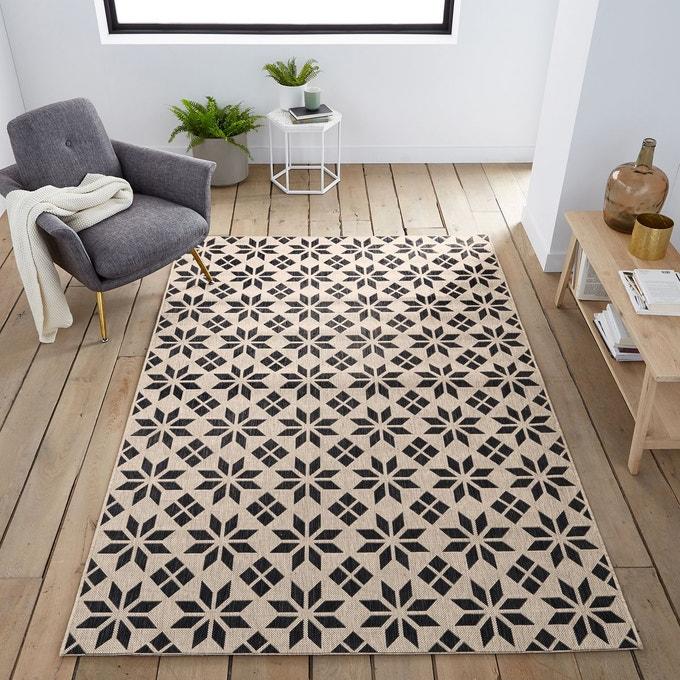 tapis motif carreaux de ciment
