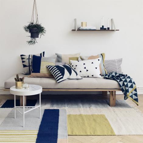 tapis motif geometrique ferm living