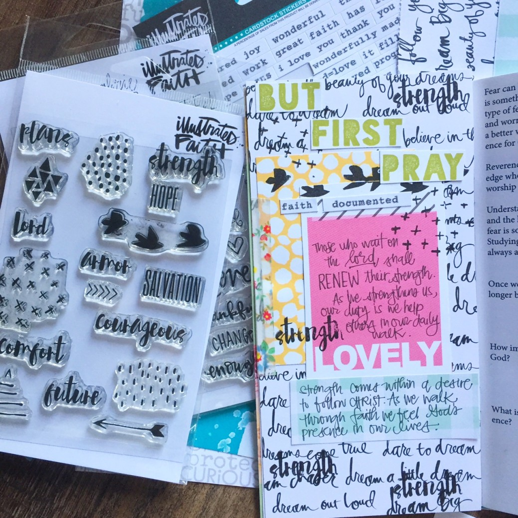 journal creatif idee decoration page