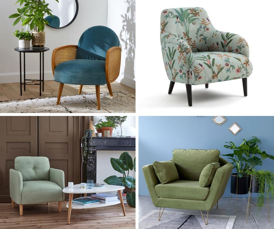 la redoute decoration mobilier salon fauteuil