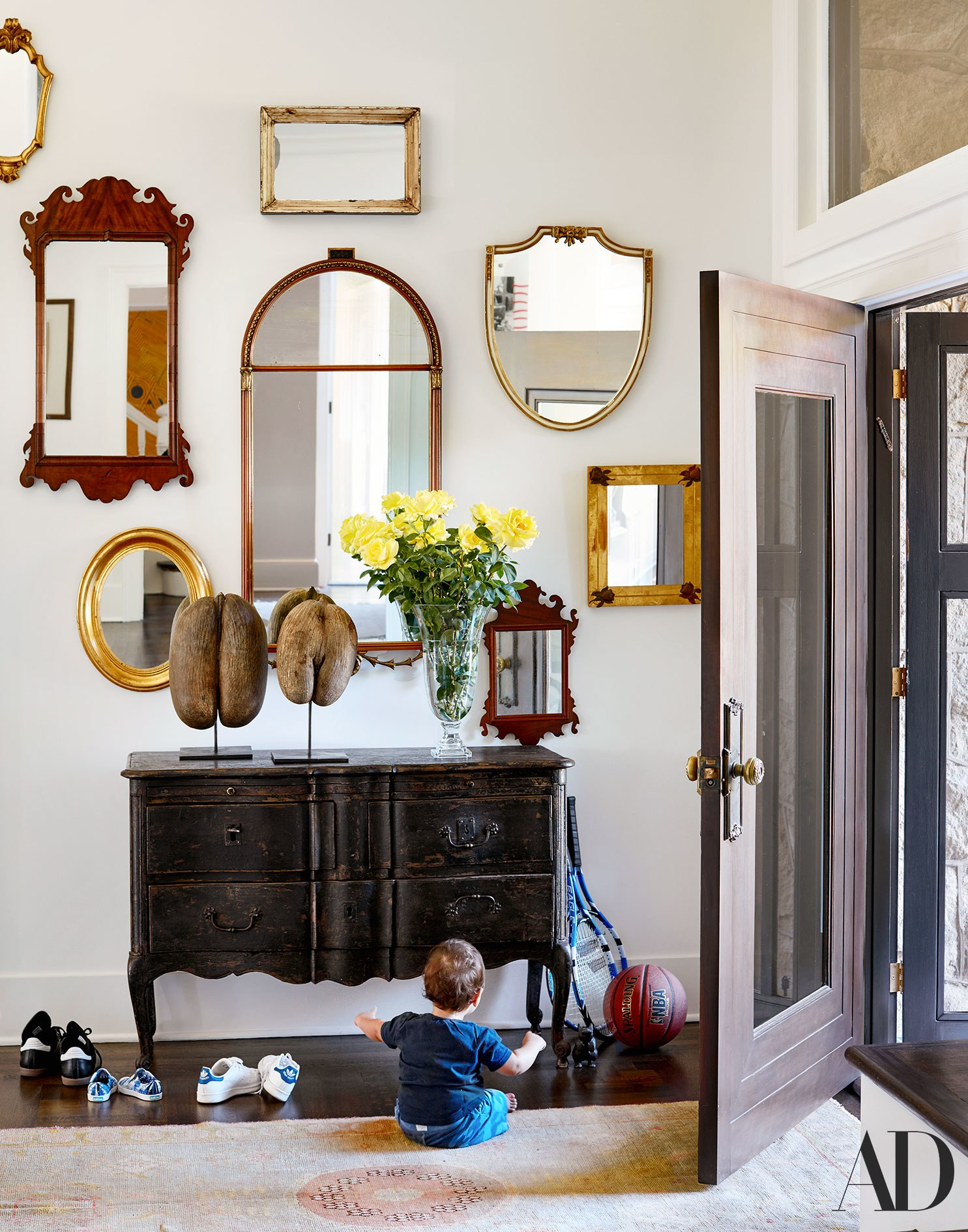 miroir entree accumulation