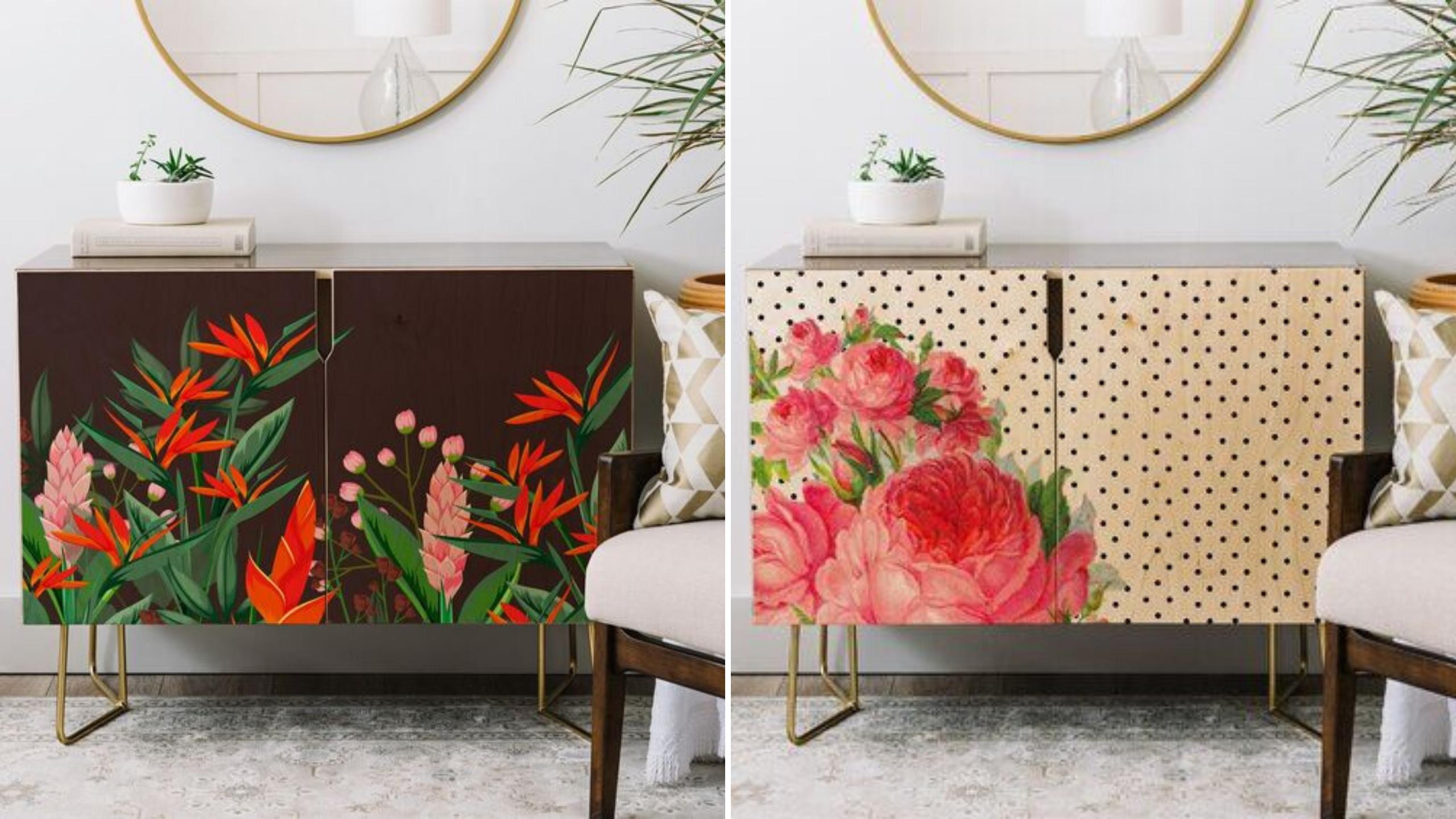 mobilier personnlise fleurs et plantes