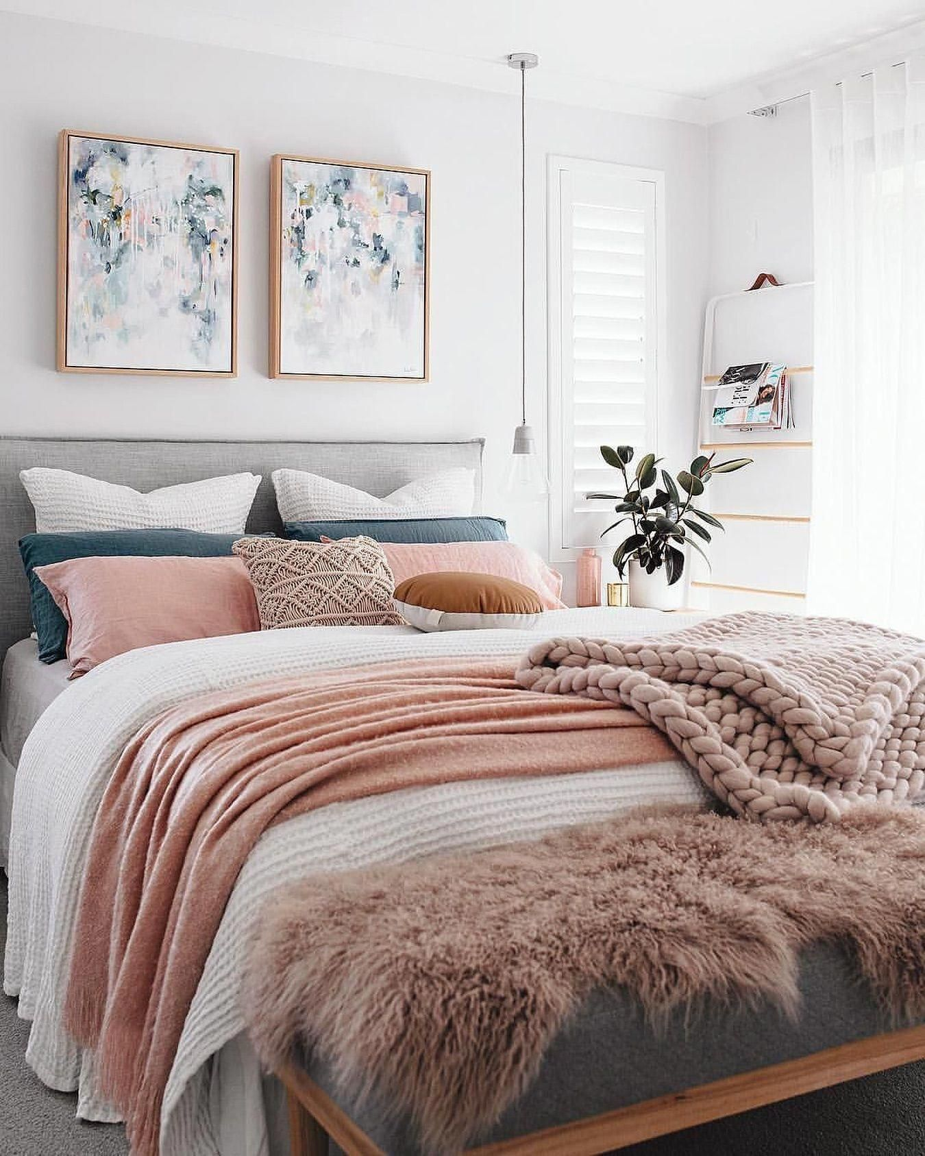 chambre deco elegante feminine idee