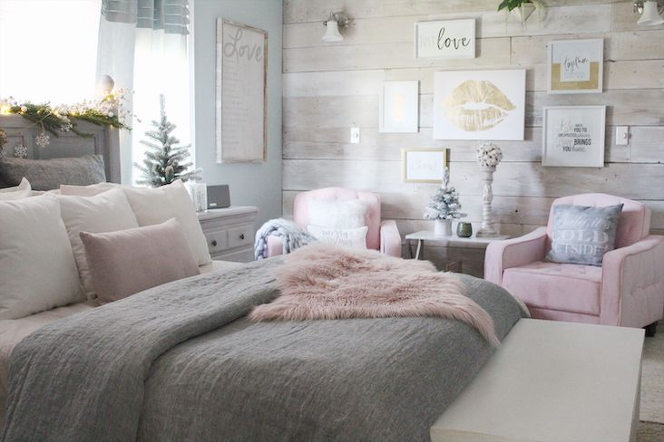 chambre decoration elegante et feminine idee conseils deco