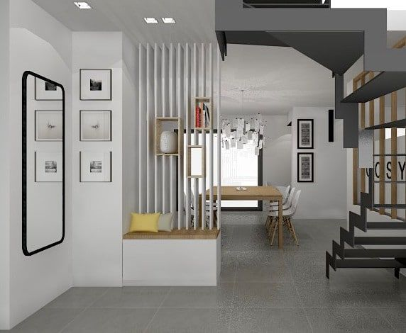 claustra entree design