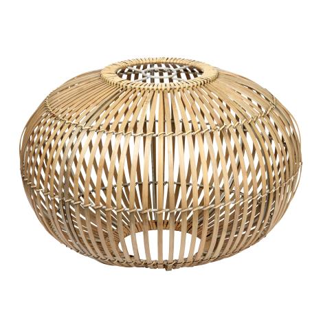 luminaire rotin bambou abat jour