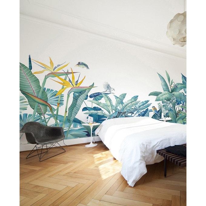 papier peint chambre motif panoramique tropical