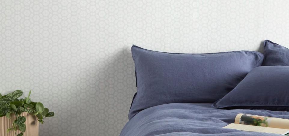 papier peint motif chambre claire