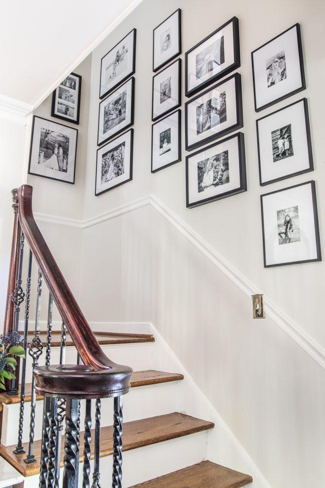 cadre deco cage escalier soubassement