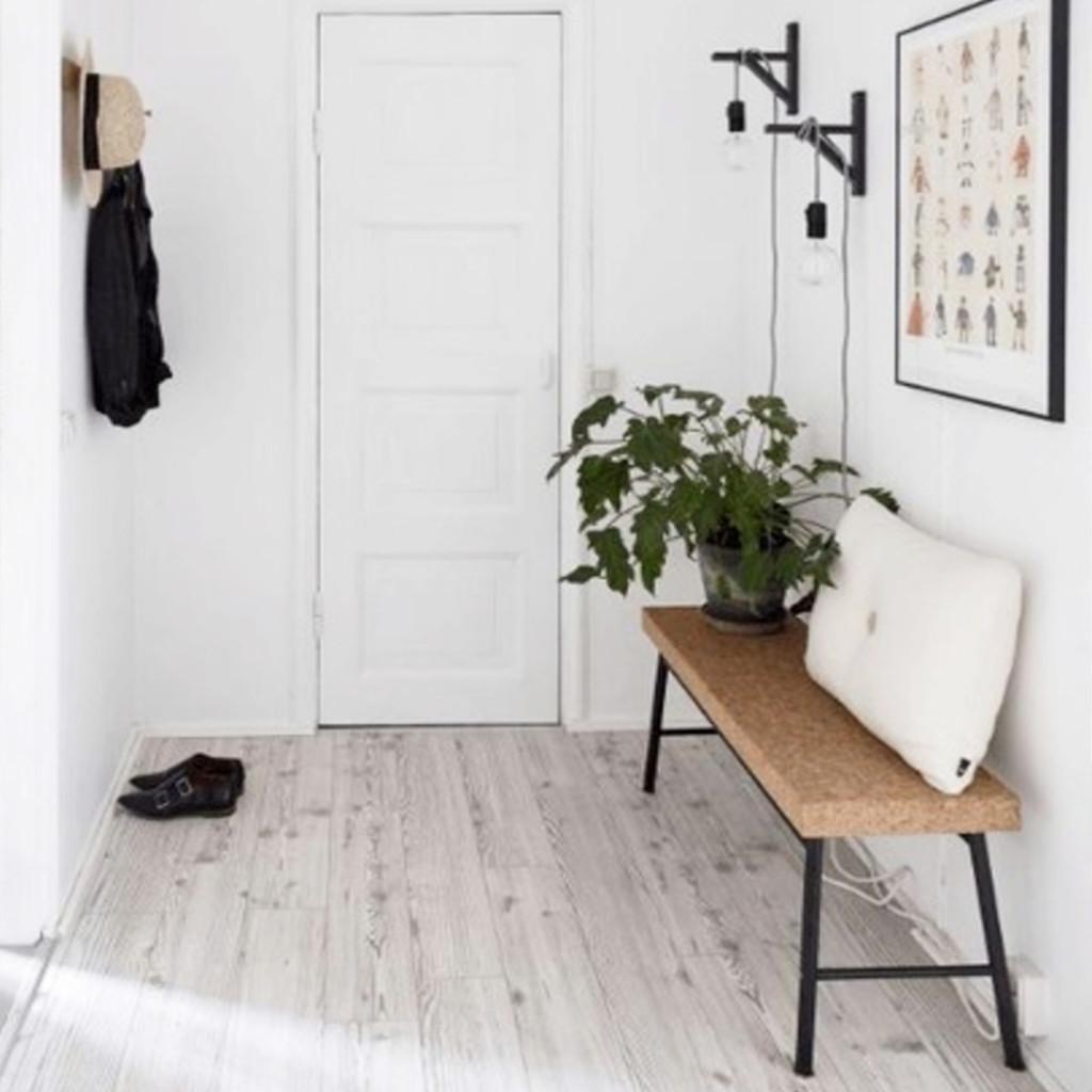 cadre deco entree minimaliste