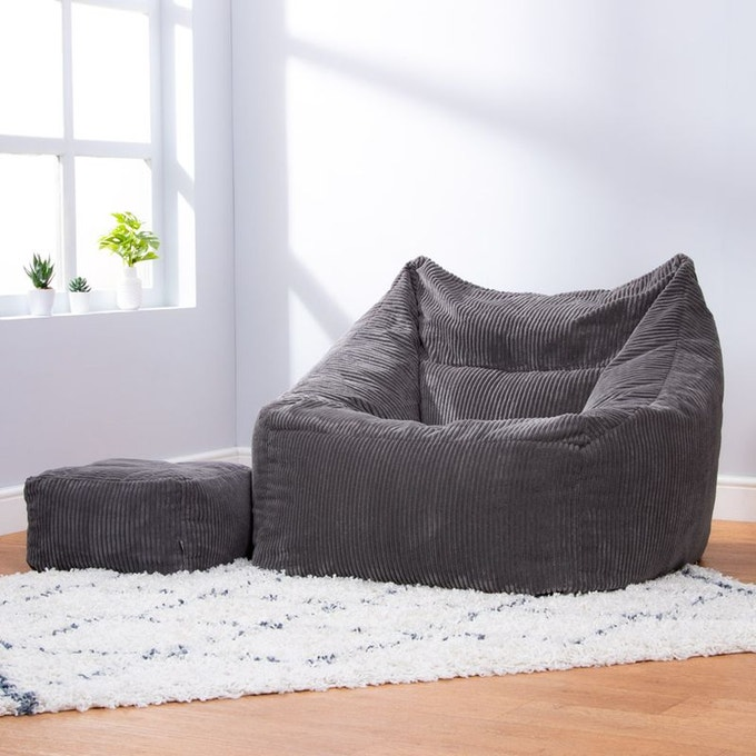 chambre ado convial pouf fauteuil velours