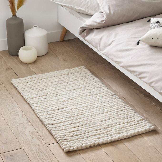 chambre descente de lit pure laine