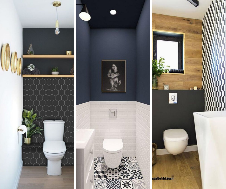 couleur sombre toilettes