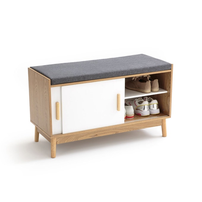 meuble entree banc chaussure scandinave