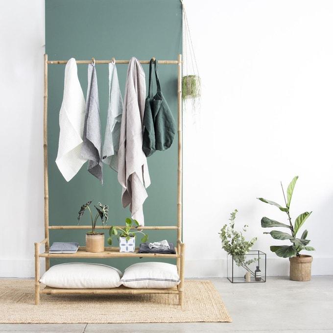 meuble entree vestiaire bambou