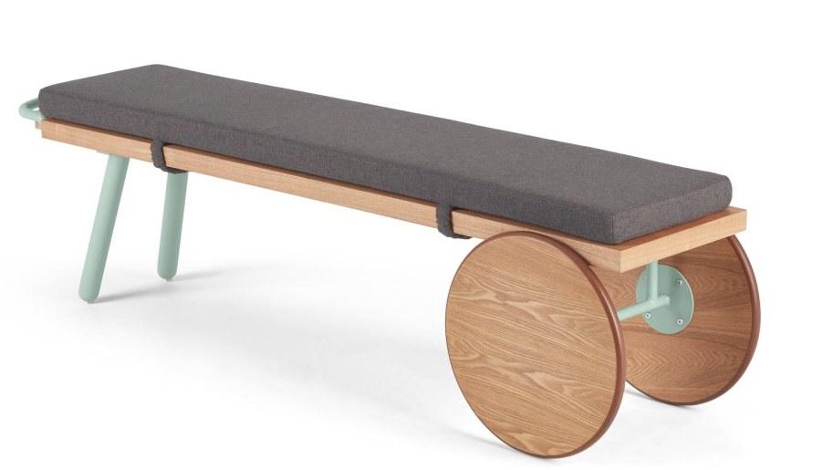 mobilier entree banc design