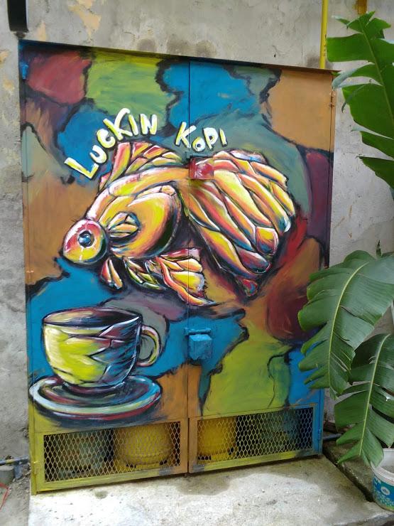 nomade kuala lumpur dessin art rue