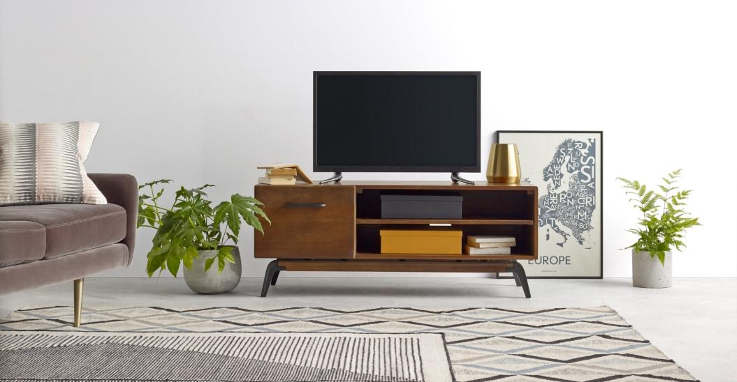 petit meuble tele vintage kinfolk