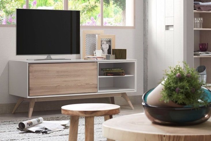 petit meuble television salon selection deco