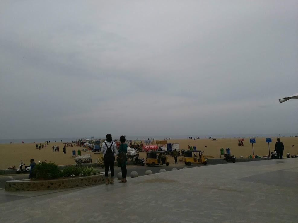 vie nomade chennai plage