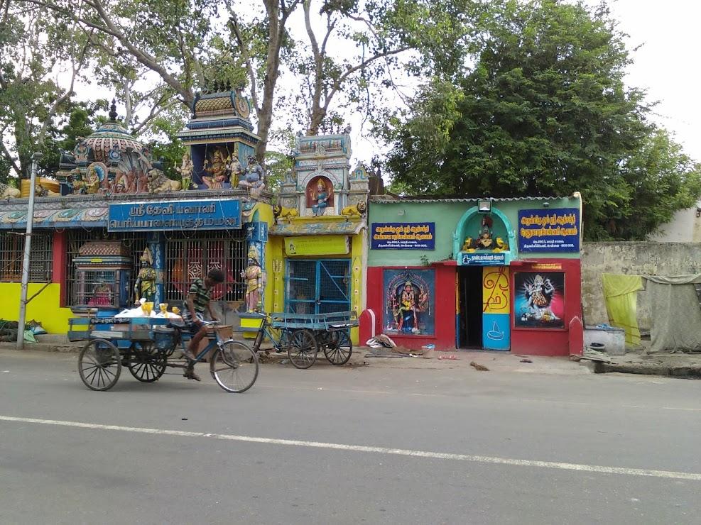 vie nomade chennai temple tamil couleur