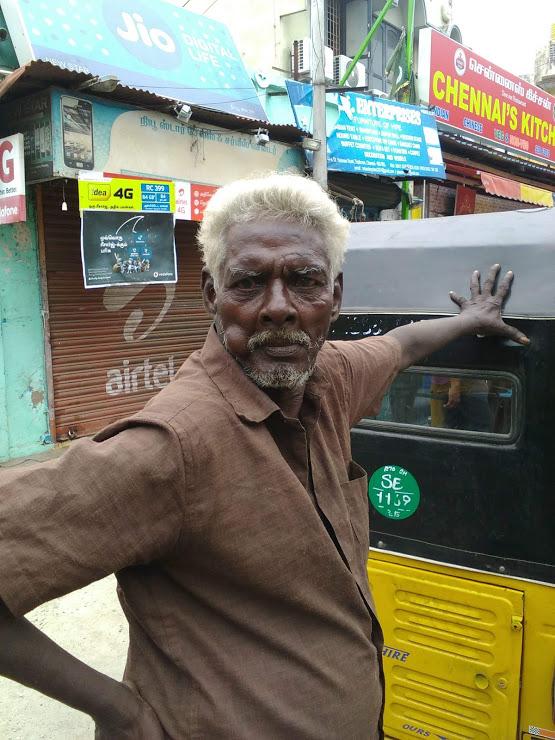 vie nomade inde chennai portrait