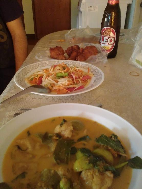 vie nomade thailande nourriture locale