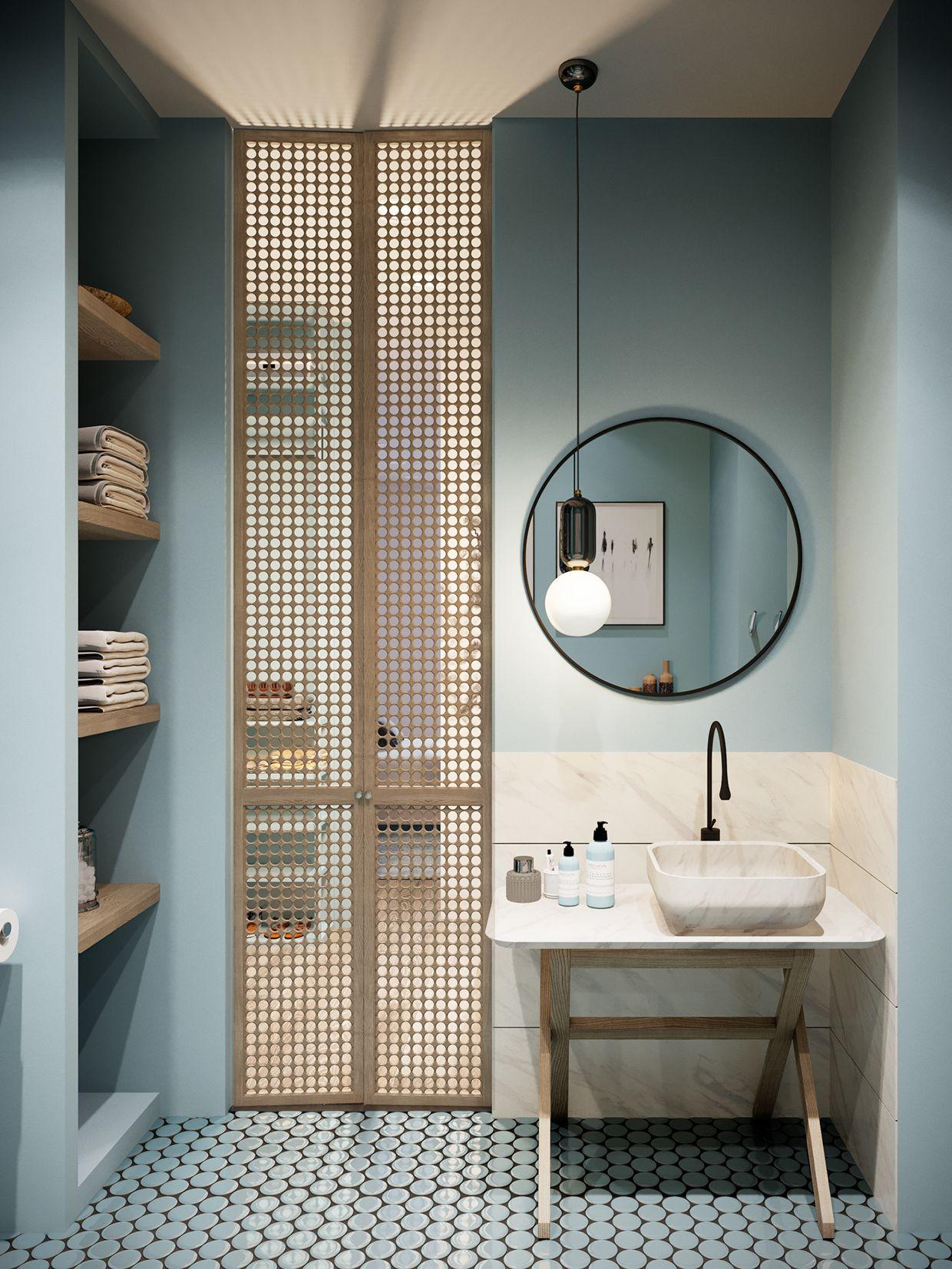 claustra salle de bain cloison ajouree