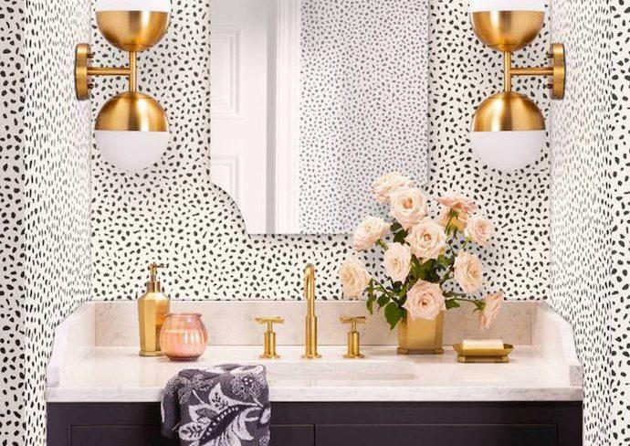 idee deco salle de bain feminine et elegante