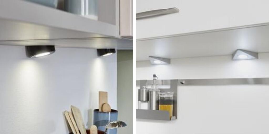luminaire cuisine spots sous meuble