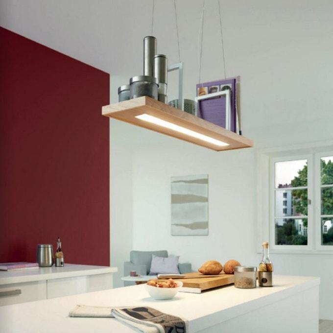 luminaire cuisine suspension ilot de travail