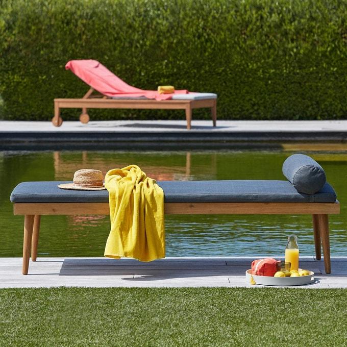 mobilier de jardin lit exterieur deco