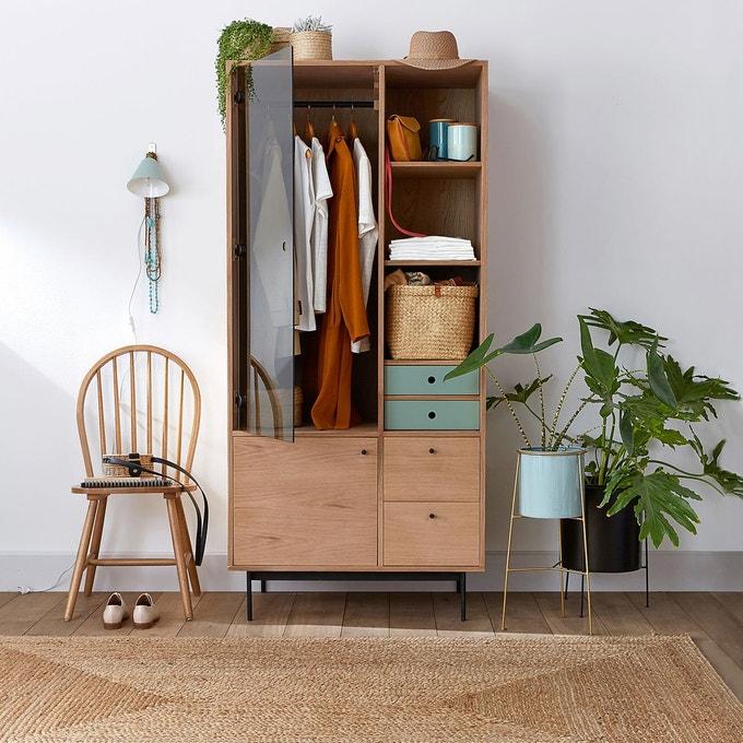 petite chambre meuble armoire penderie