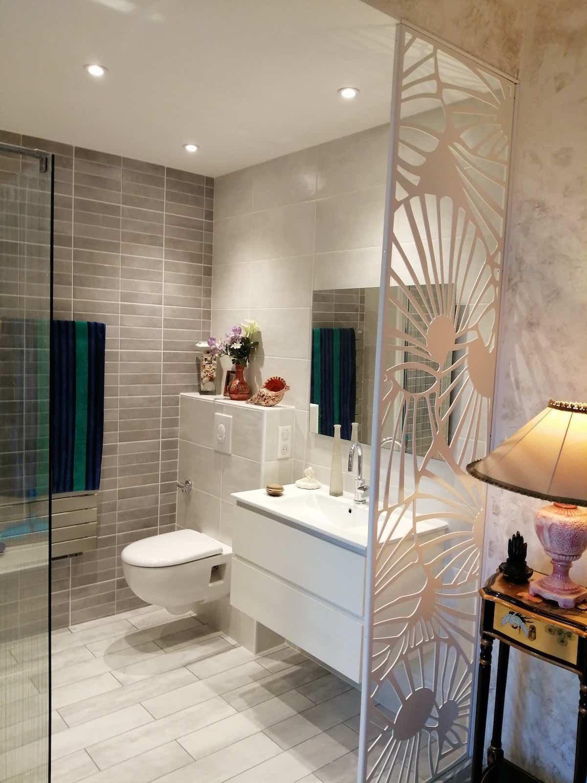 salle de bain claustra decoupe laser decoration